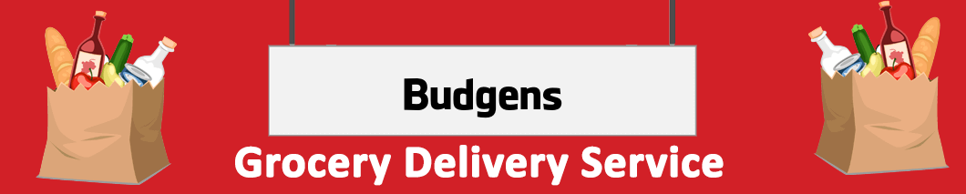 grocery delivery Budgens