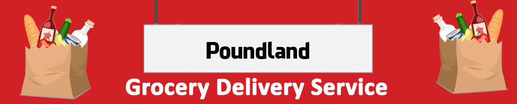 grocery delivery Poundland
